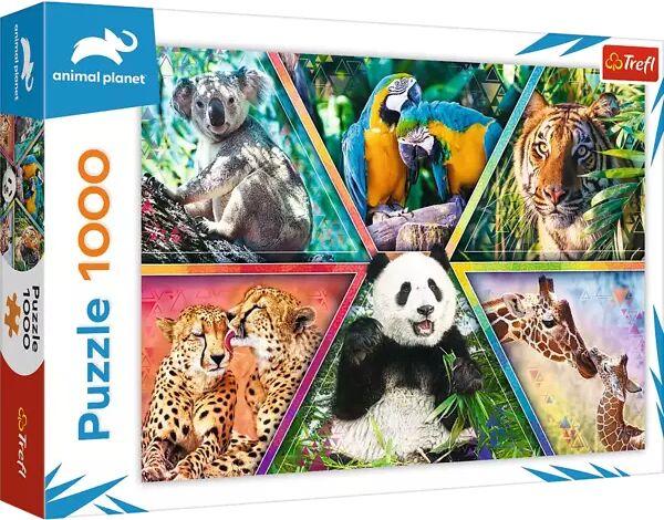 Puzzle 1000 Królestwo zwierząt 10672 - Trefl PAP