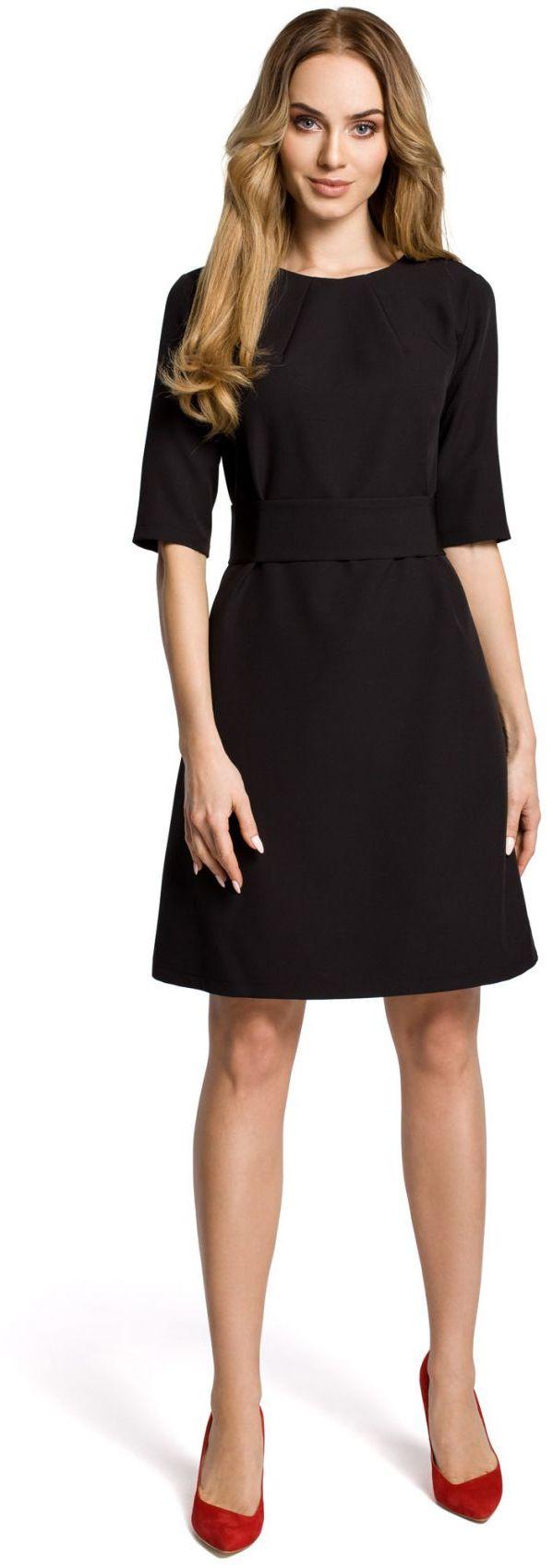 M362 sukienka czarna