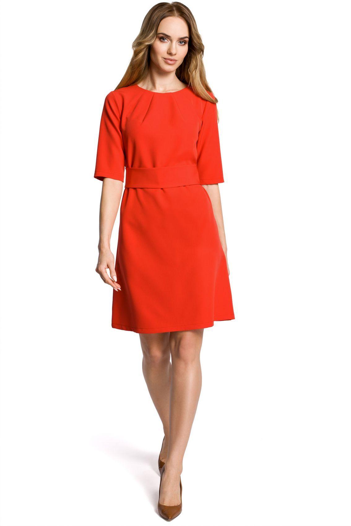 M362 sukienka czerwona