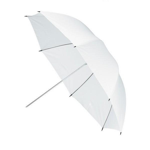 Parasolka transparentna biała Fomei 105 cm FY7596