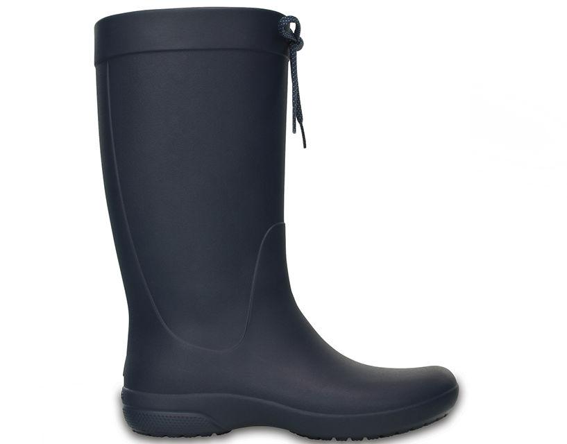 Kalosze damskie CROCS Freesail Rain Boot czarne203541410