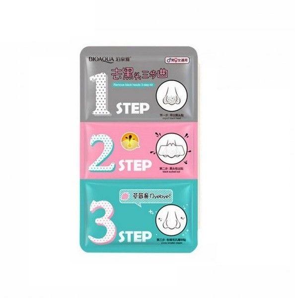 Bioaqua 123 Step Zestaw Oczyszczający Pory