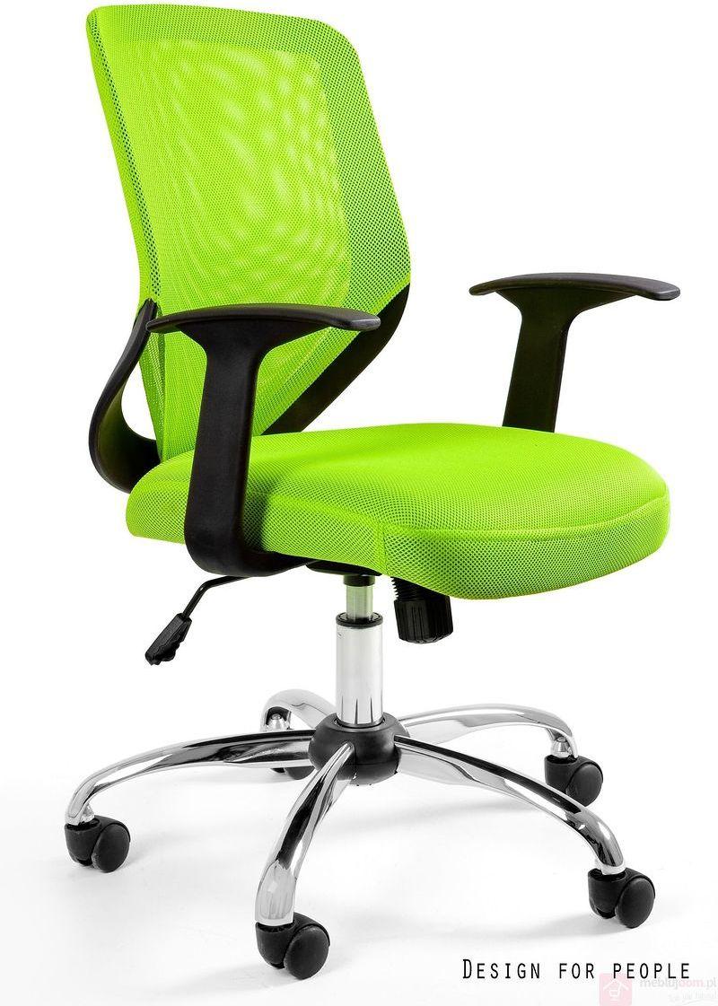 Fotel biurowy MOBI Unique Limonkowy  Zapytaj o RABAT!