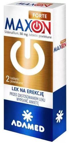 Maxon Forte 50 mg (Sildenafil) 2 tabletki powlekane