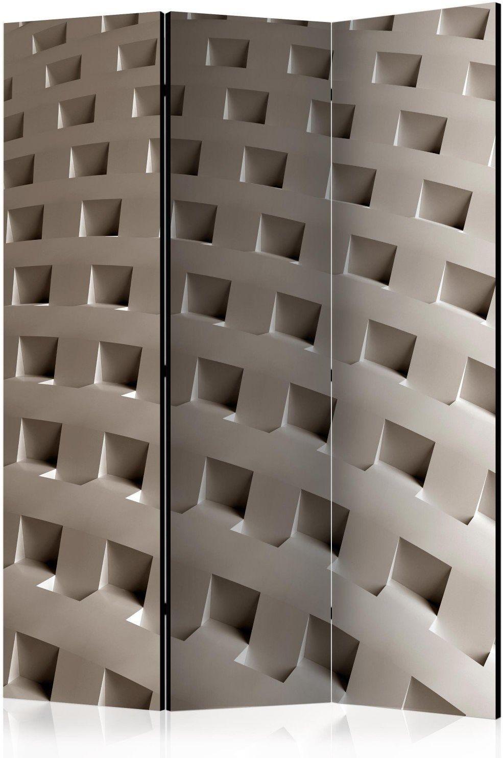 Parawan 3-częściowy - konstrukcja nowoczesności [room dividers]