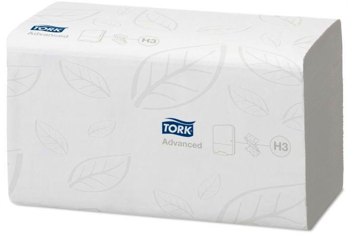 Ręcznik papierowy w składce ZZ Tork Advanced biały łatworozpuszczalny