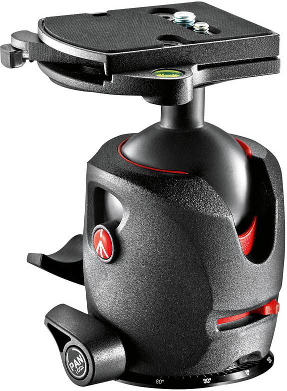 Manfrotto MH057M0-RC4 - głowica magnezowa 057 z RC4 Manfrotto MH057M0-RC4 - głowica magnezowa 057 z RC4