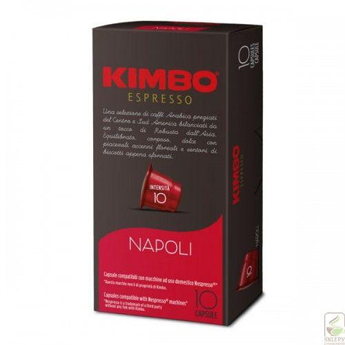 Kimbo Espresso Napoli 10 kapsułek Nespresso