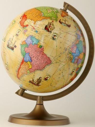 Globus szkolny odkrywcy ZACHEM karton /33612/