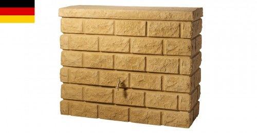 Zbiornik na deszczówkę przyścienny 400 L ROCKY sandstone