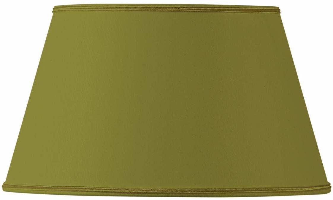 Klosz lampy/klosz do pół Empire, 40 x 28 x 23 cm, zielony/brąz