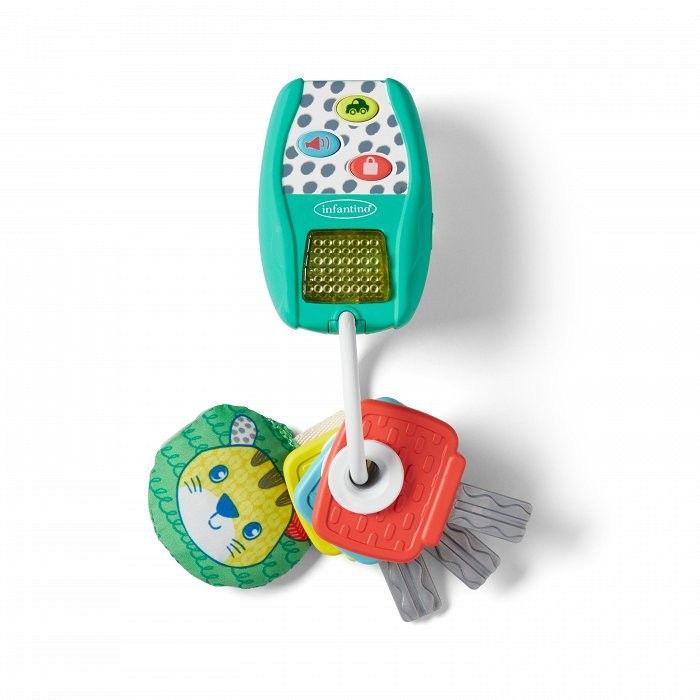 Muzyczne kluczyki z alarmem Infantino