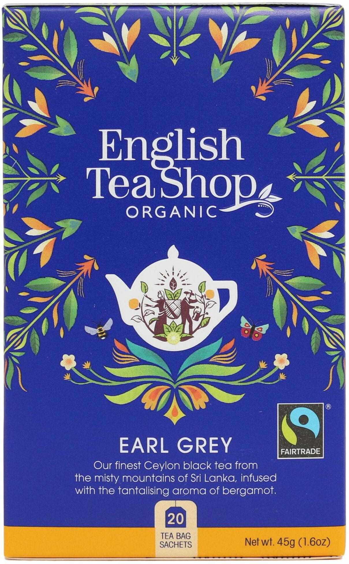 English Tea Shop Earl Grey  20 saszetek