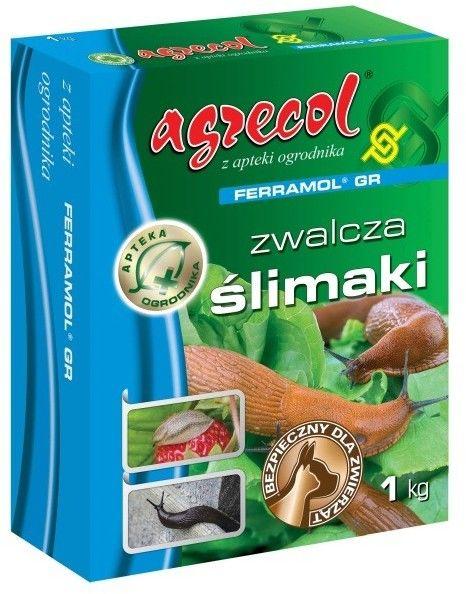 Granulat na ślimaki Agrecol Ferramol 1 kg
