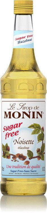 Syrop hazelnut sugar free Monin 0,7 L