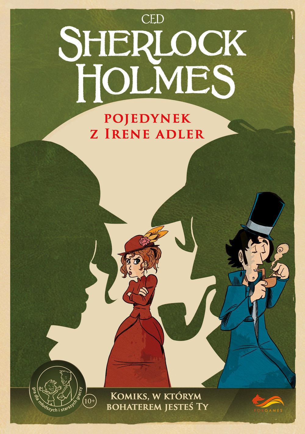 Gra Komiks Paragrafowy: Sherlock Holmes: Pojedynek z Irene Adler