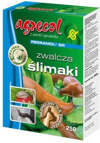 Granulat na ślimaki Agrecol Ferramol 250 g