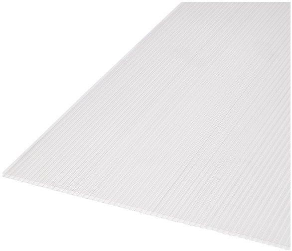 Płyta poliwęglanowa Roof pro 10 mm 1 x 2 m transparentna