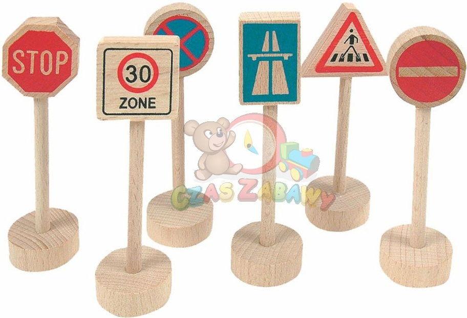 Woodyland - Znaki drogowe 90575