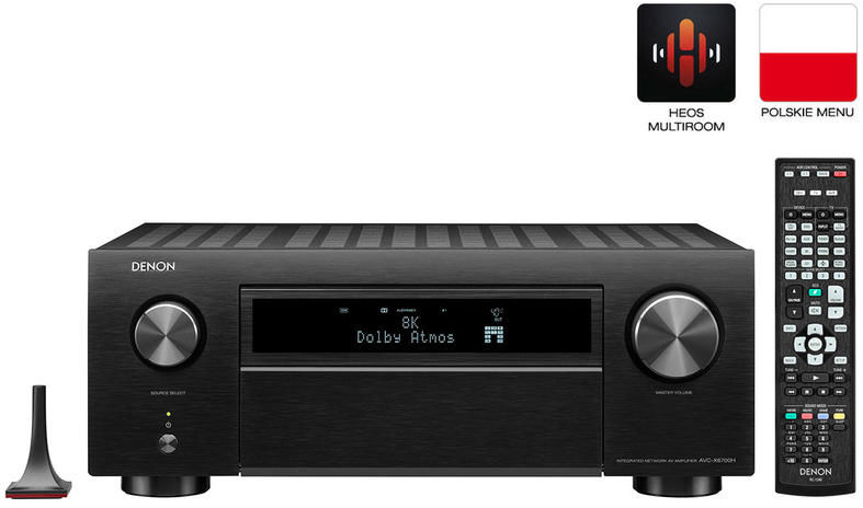 Denon AVC-X6700H Amplituner Kina Domowego 8K 13.2 Alexa, WiFi, AirPlay, HEOS