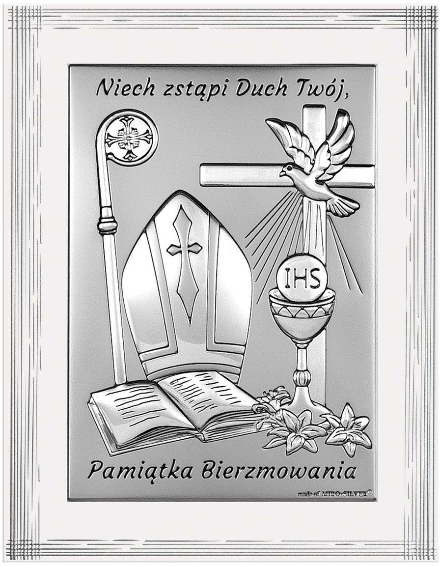 Obrazek Pamiątka Bierzmowania Rozmiar: 9x12 cm SKU: BC6721F/2