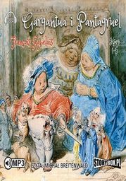 Gargantua i Pantagruel. Księgi 1-5 - Audiobook.