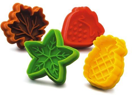 Zestaw do wykrawania ciasteczek - owoce