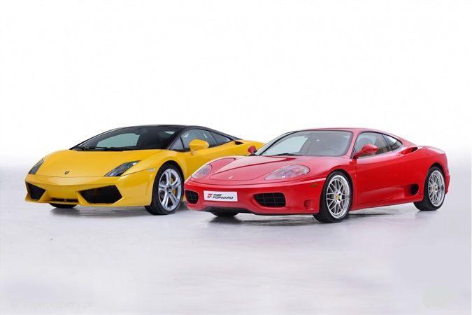 Jazda Lamborghini Gallardo vs Ferrari 360 Modena