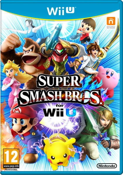 Gra Super Smash Bros (WiiU)