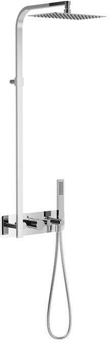 Excellent Krotos zestaw prysznicowy termostatyczny podtynkowy Rain chrom AREX.8081CR