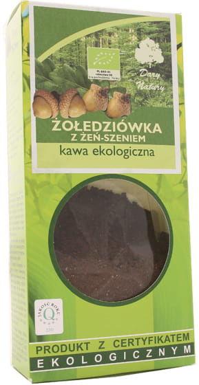Kawa żołędziówka z żeń-szeniem BIO - Dary Natury - 100g