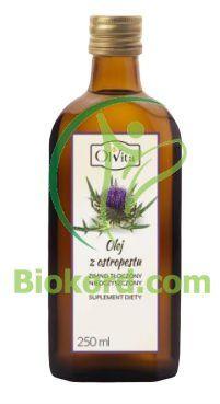 Olej z Ostropestu Zimnotłoczony, Nieoczyszczony, Suplement Diety, Olvita