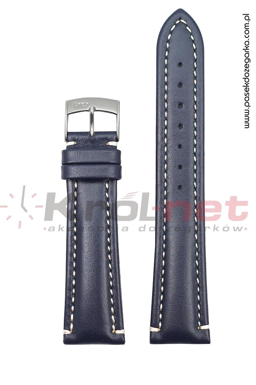 Pasek 0983/80/22 - granatowy, long