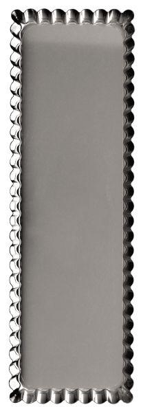 Podłużna blacha do tarty z wyjmowanym dnem 35 cm x 11 cm