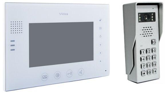 Wideodomofon vidos m670w-s2/s50d - szybka dostawa lub możliwość odbioru w 39 miastach