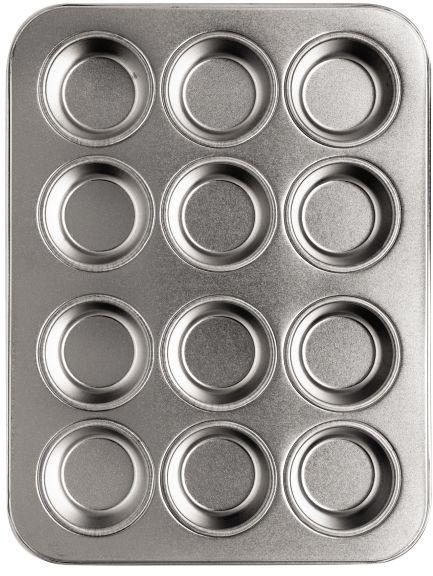 Blacha do mini muffinek 12 szt. 20cm x 15cm