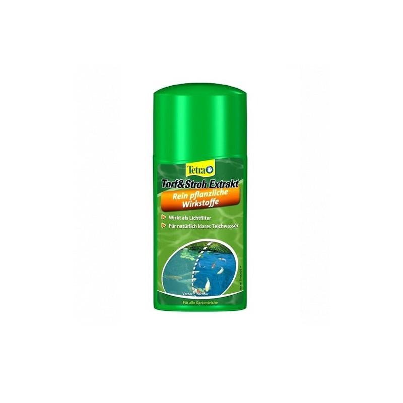 Tetra Pond Torf & Stroh Extrakt (AlgoSchutz) 250ml - ogranicza wzrost glonów