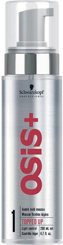 Schwarzkopf OSiS+ Topped Up pianka delikatna do stylizacji włosów 200ml