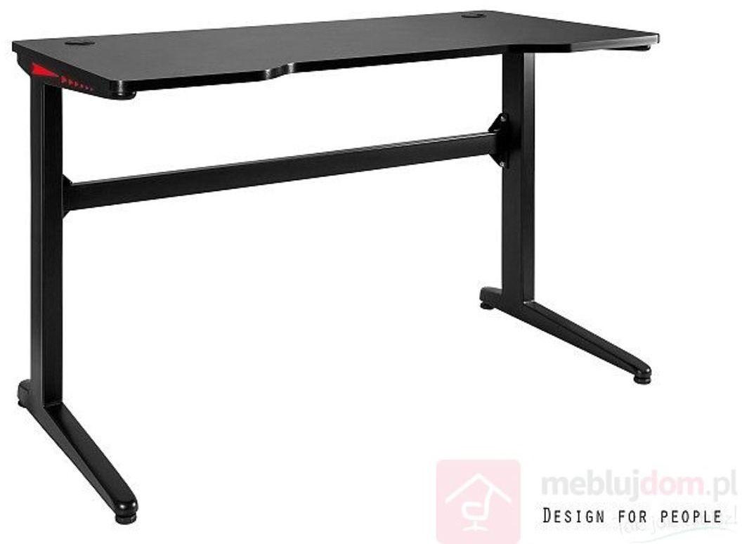 Biurko dla gracza DYNAMIQ V6 Unique Czarny + Carbon  RABAT na stronie!