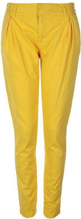 spodnie BENCH - Straighten Up Yellow (YW054)