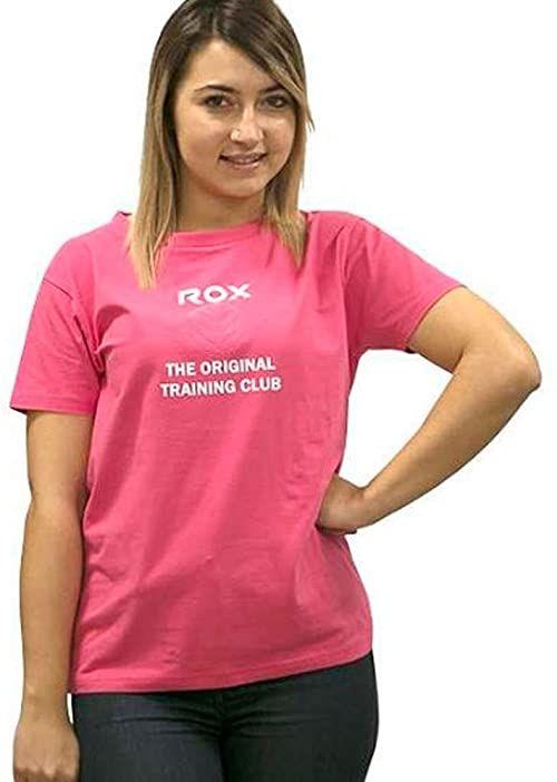 ROX T-shirty damskie fioletowy Fuchsia XS