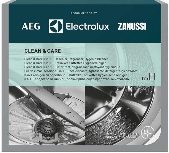 Electrolux - Preparat do pralki i zmywarki 3 w 1 - CLEAN&CARE (6szt) M3GCP400