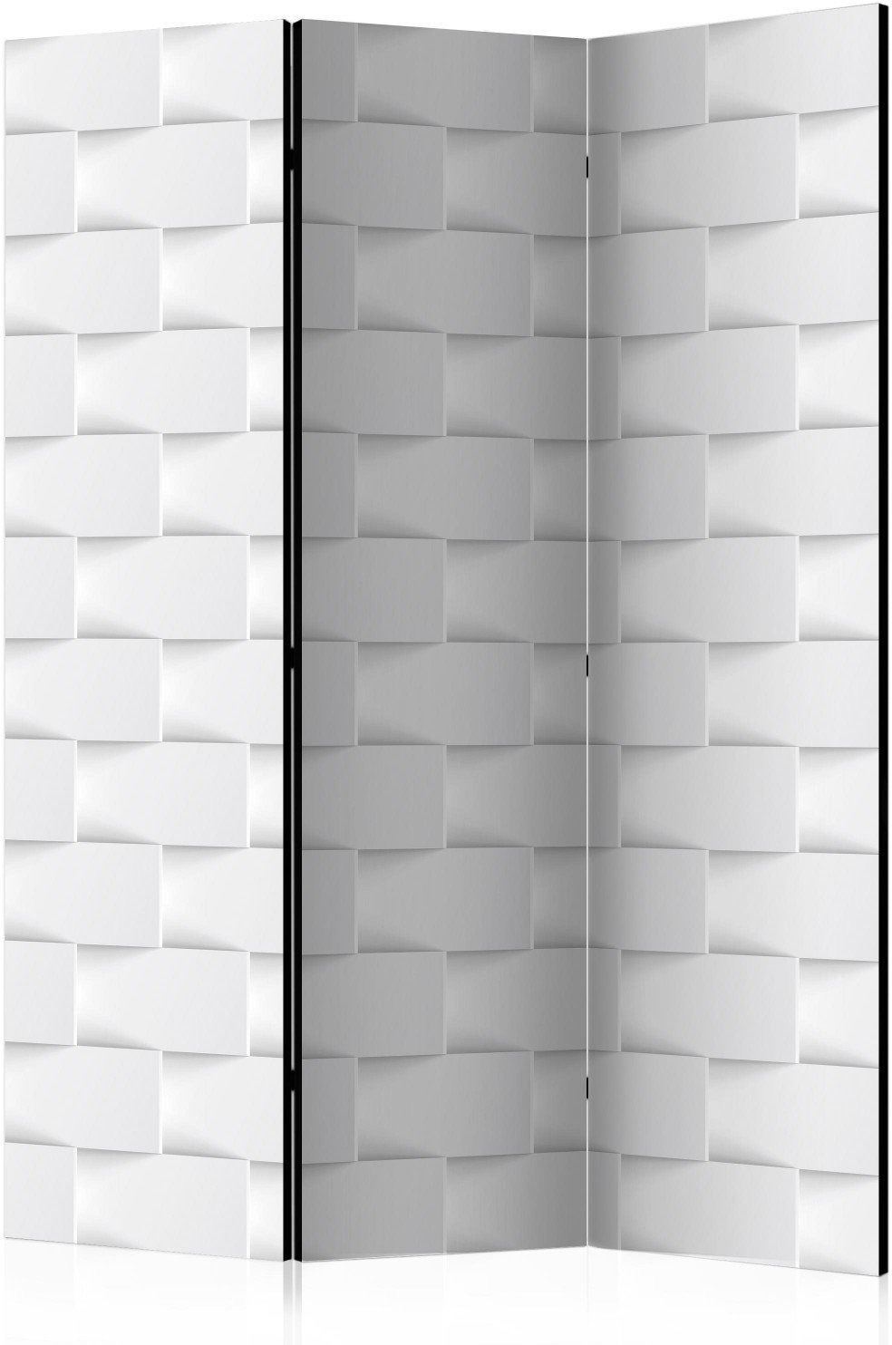 Parawan 3-częściowy - abstrakcyjny parawan [room dividers]