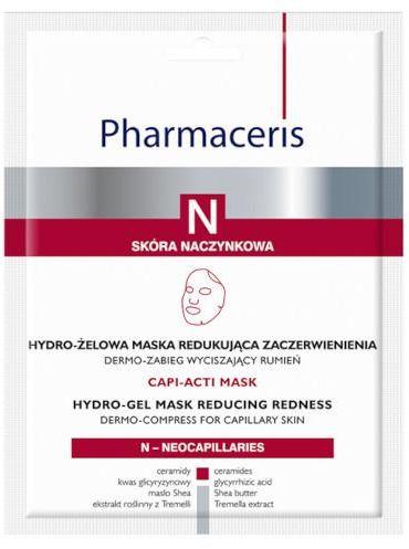 Pharmaceris N Capi-Acti Mask hydro-żelowa maska redukująca zaczerwienienia 1 sztuka