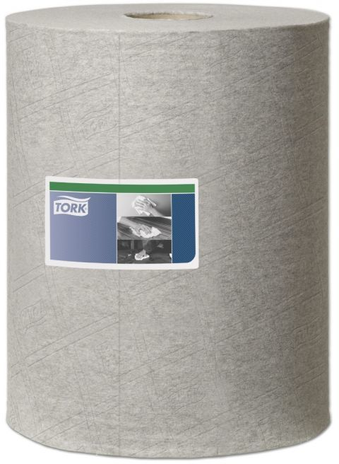 Czyściwo włókninowe do zabrudzeń przemysłowych Tork Premium w roli szare