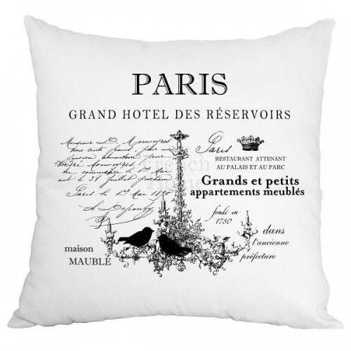 Poduszka dekoracyjna Paris