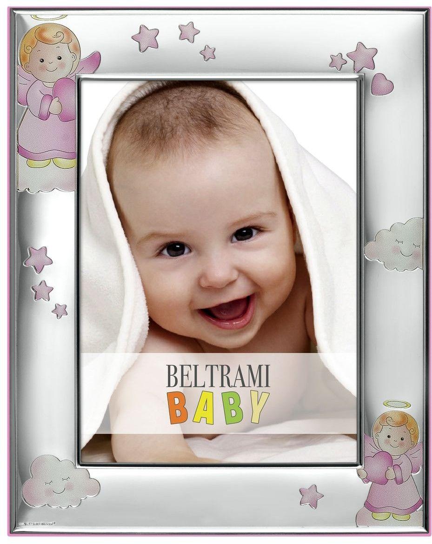 Ramka dziecięca z Aniołkami Rozmiar: 13x18 cm Kolor: Różowy SKU: BC3814/4R