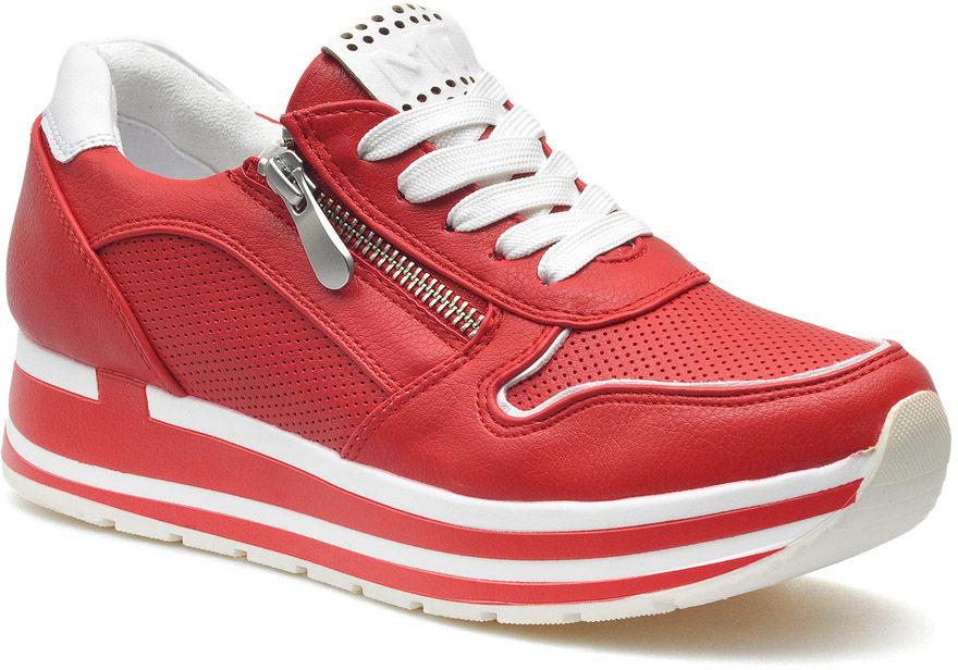 Sneakersy Marco Tozzi 2-23717-34 Czerwone