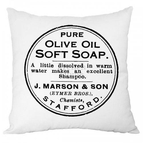Poduszka dekoracyjna Soap
