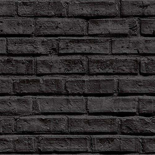 Arthouse 623007 tapeta z czarnej cegły